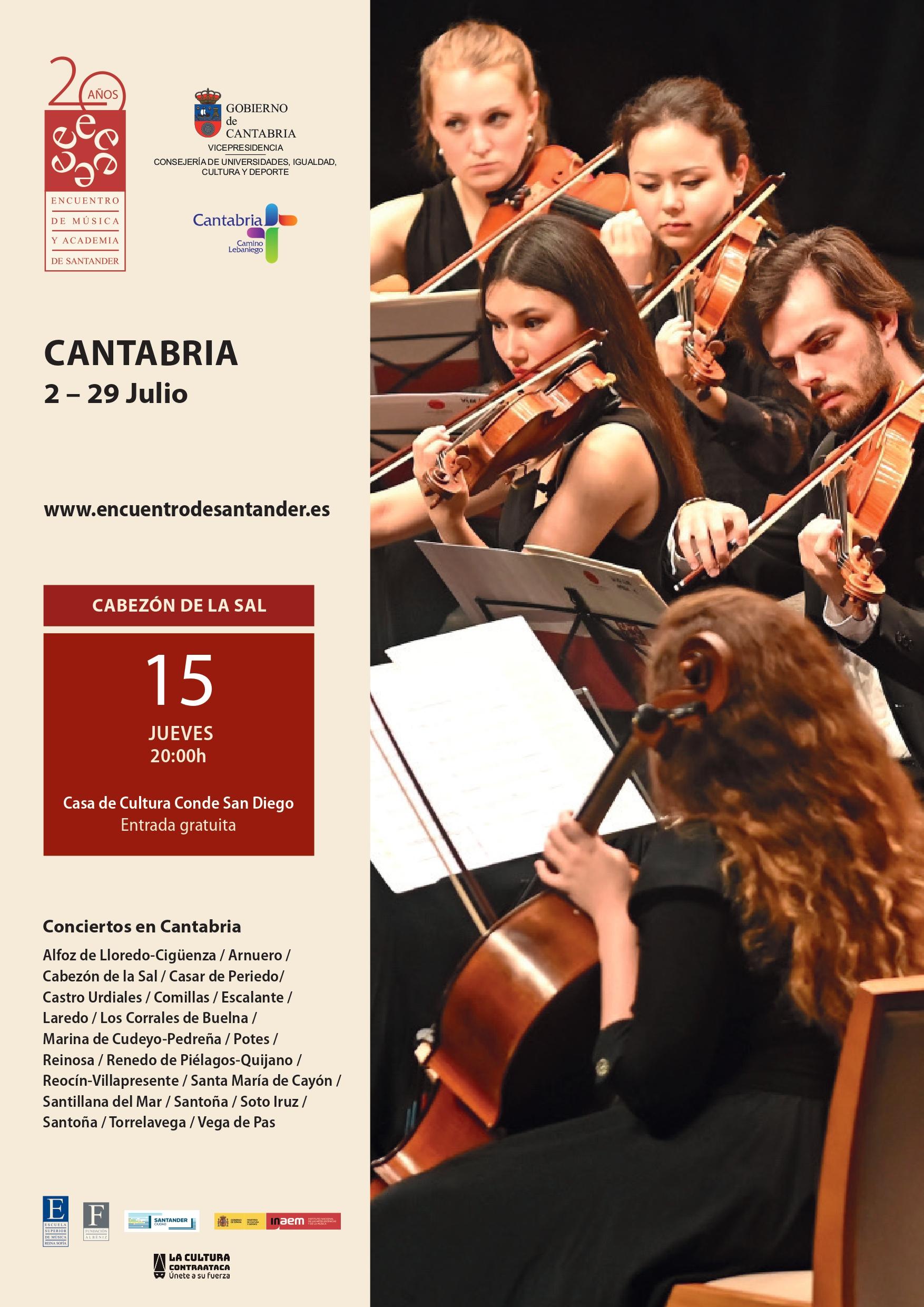 Concierto de Música Clásica.