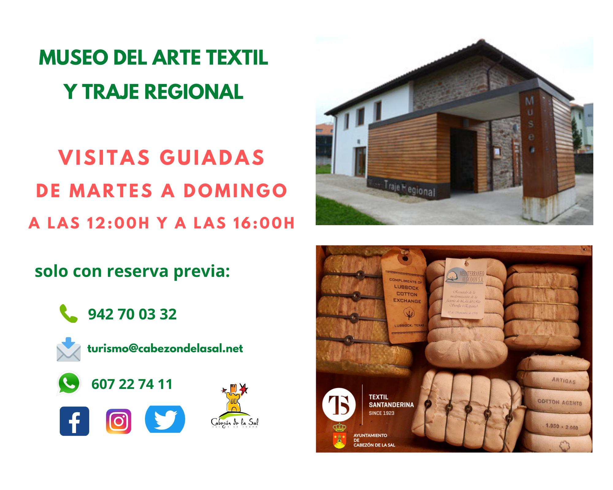 HORARIO DEL MUSEO DEL ARTE TEXTIL