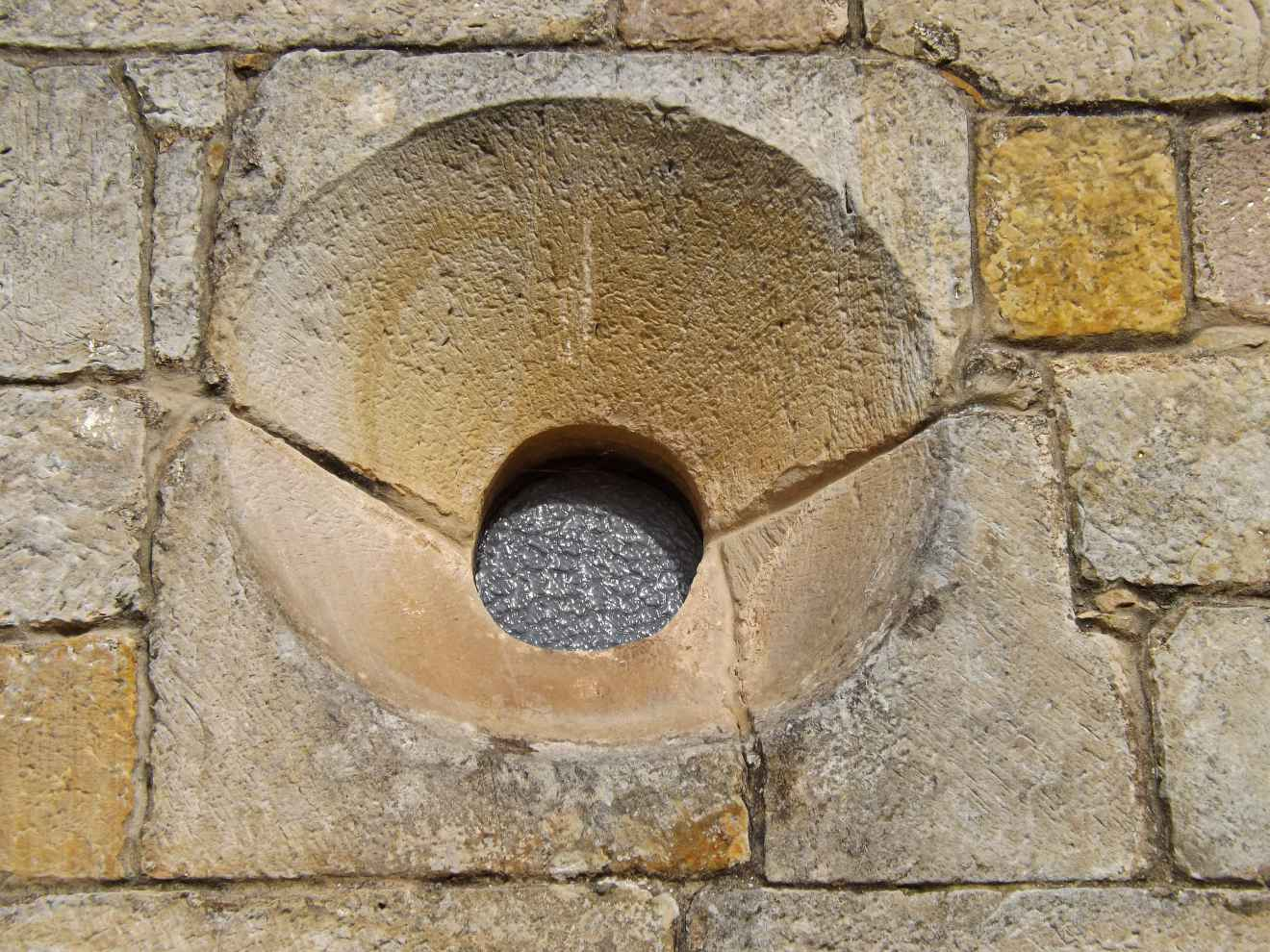 Detalle de la iglesia de Ontoria