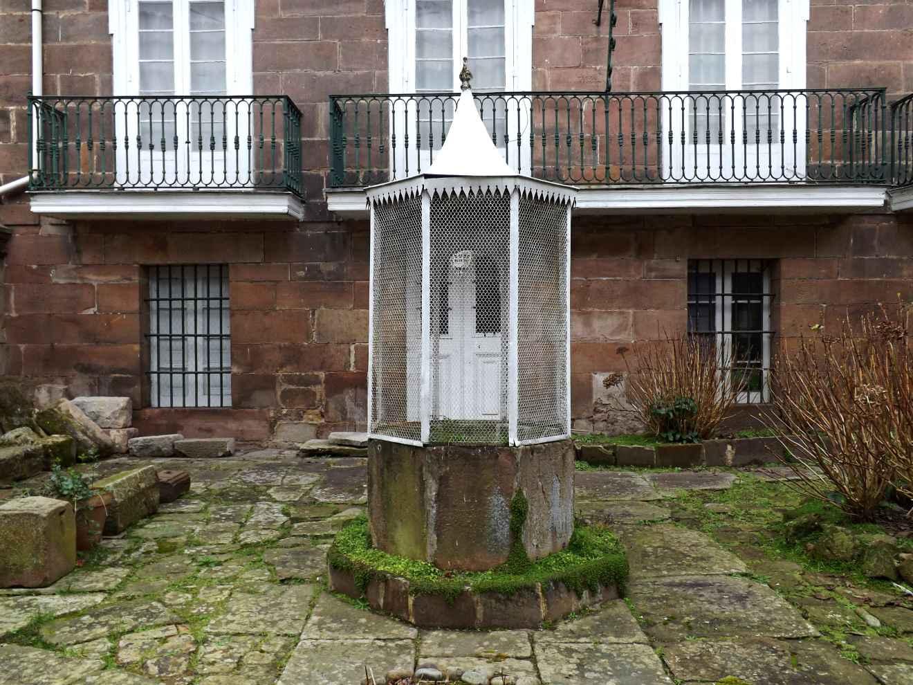 Detalle del palacio de La Bodega