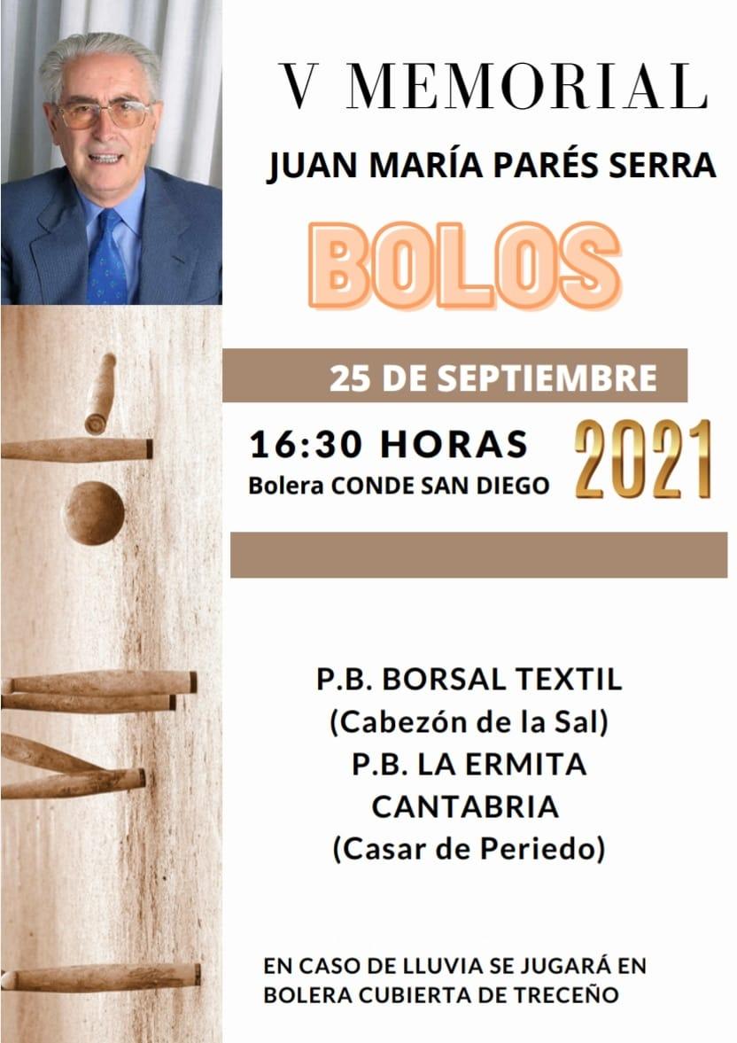 Bolos V Memorial Juan María Parés