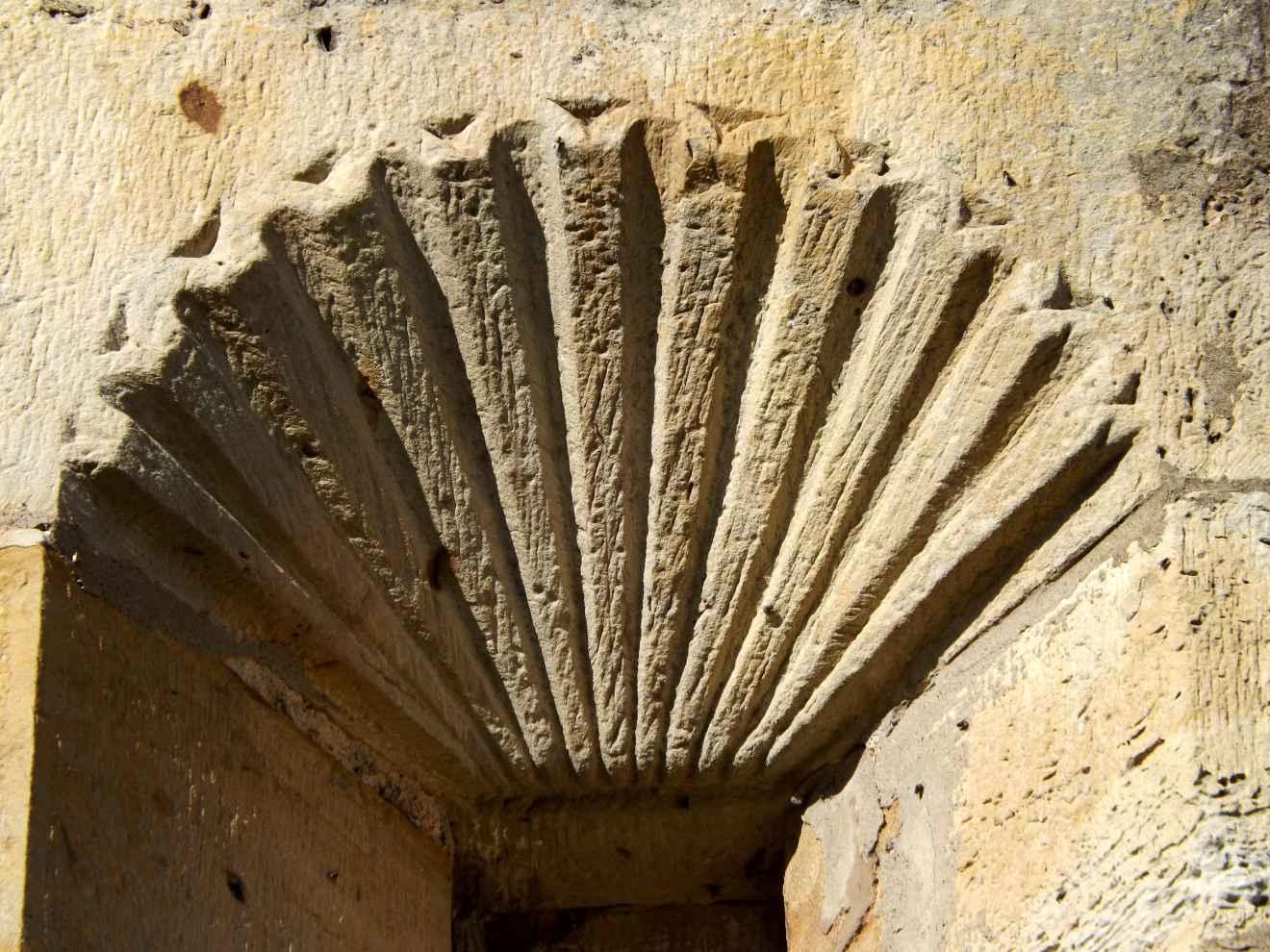 Detalle de la ermita de Las Nieves