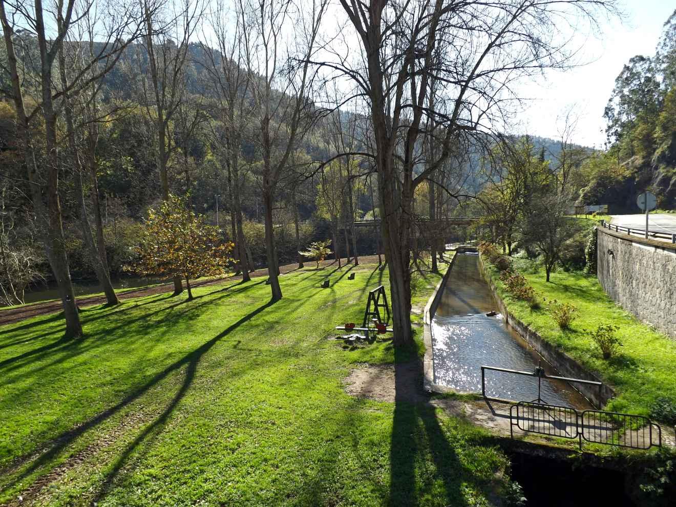 Canal en la campa de Santa Lucía