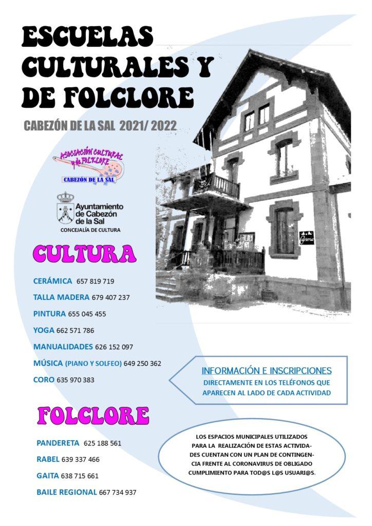 Escuelas culturales y de folklore