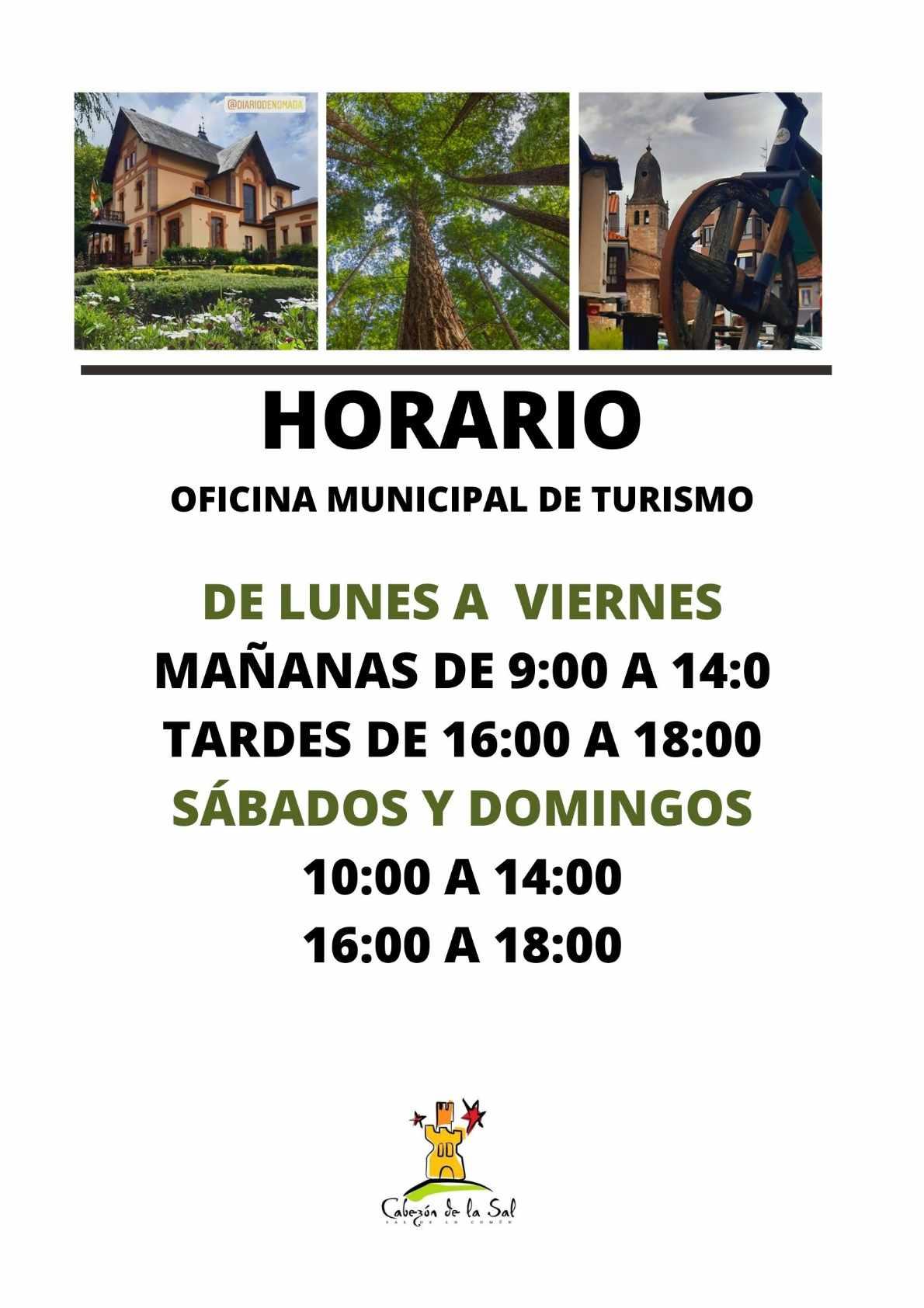 Horario Oficina de Turismo