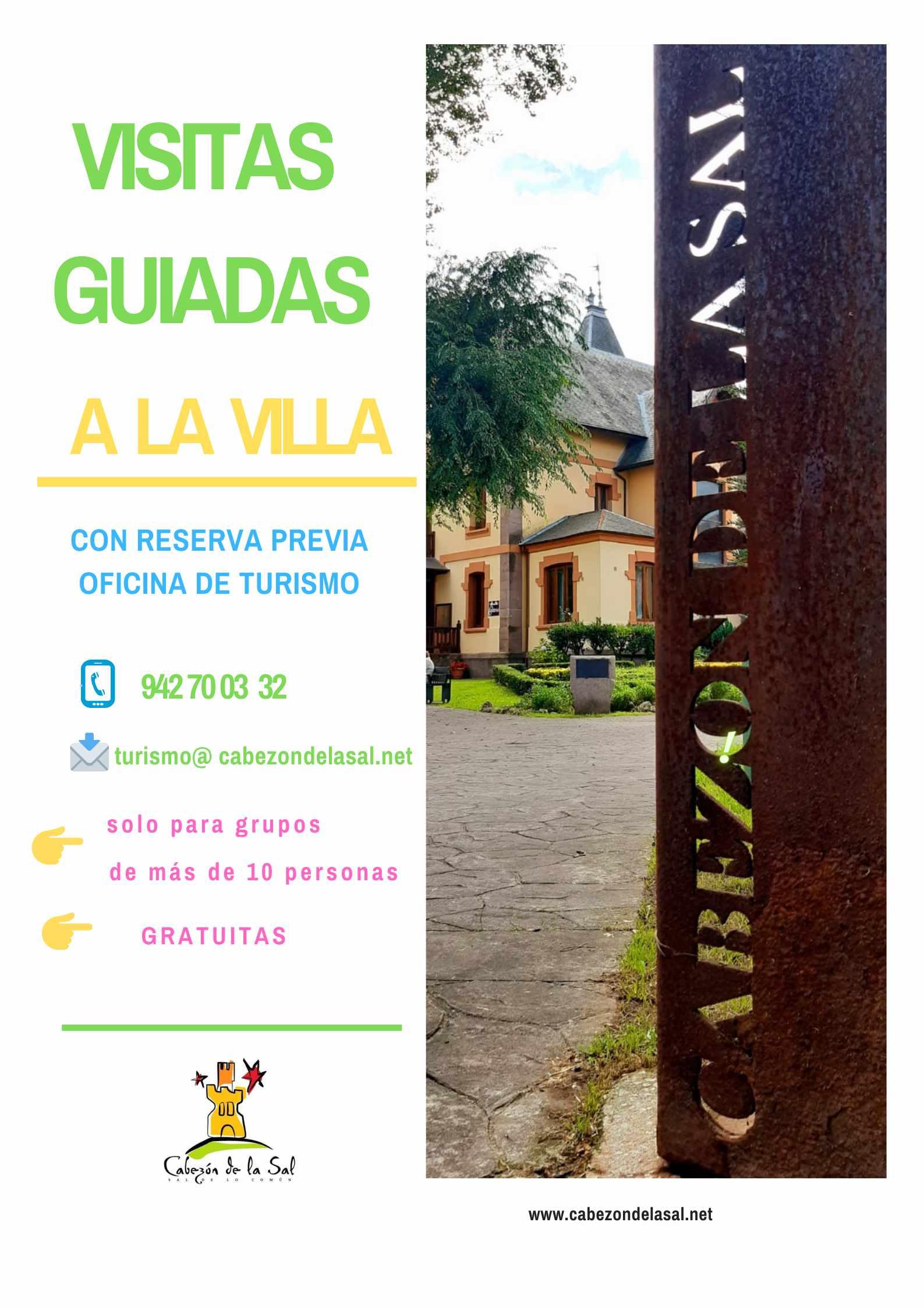 Visita guiada a la Villa de Cabezón de la Sal