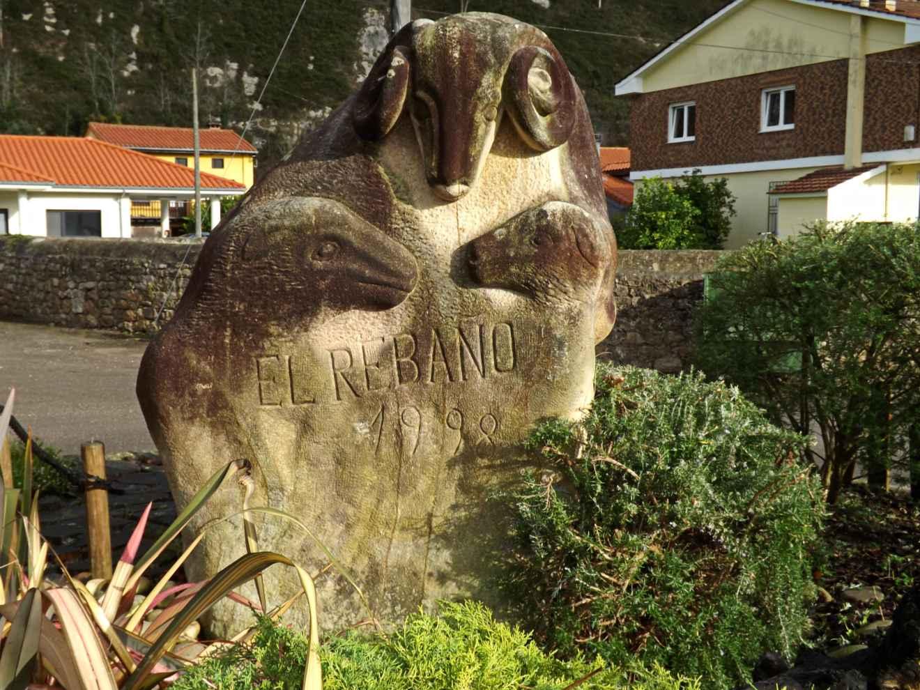 Monumento al rebaño en Casar