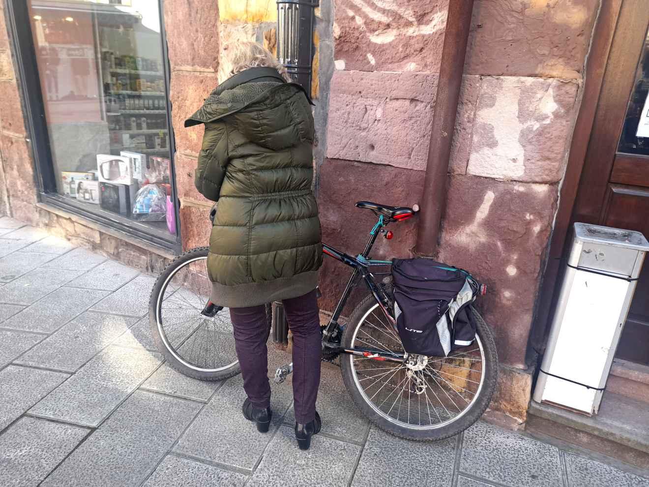 Bicicleta en Cabezón de la Sal