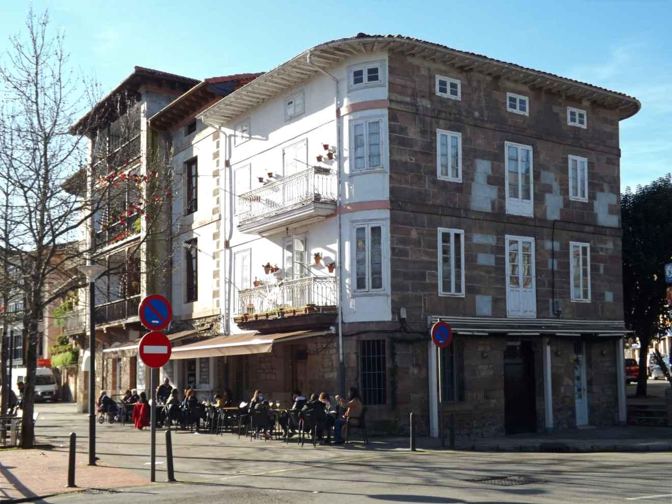Edificio de la calle Santander