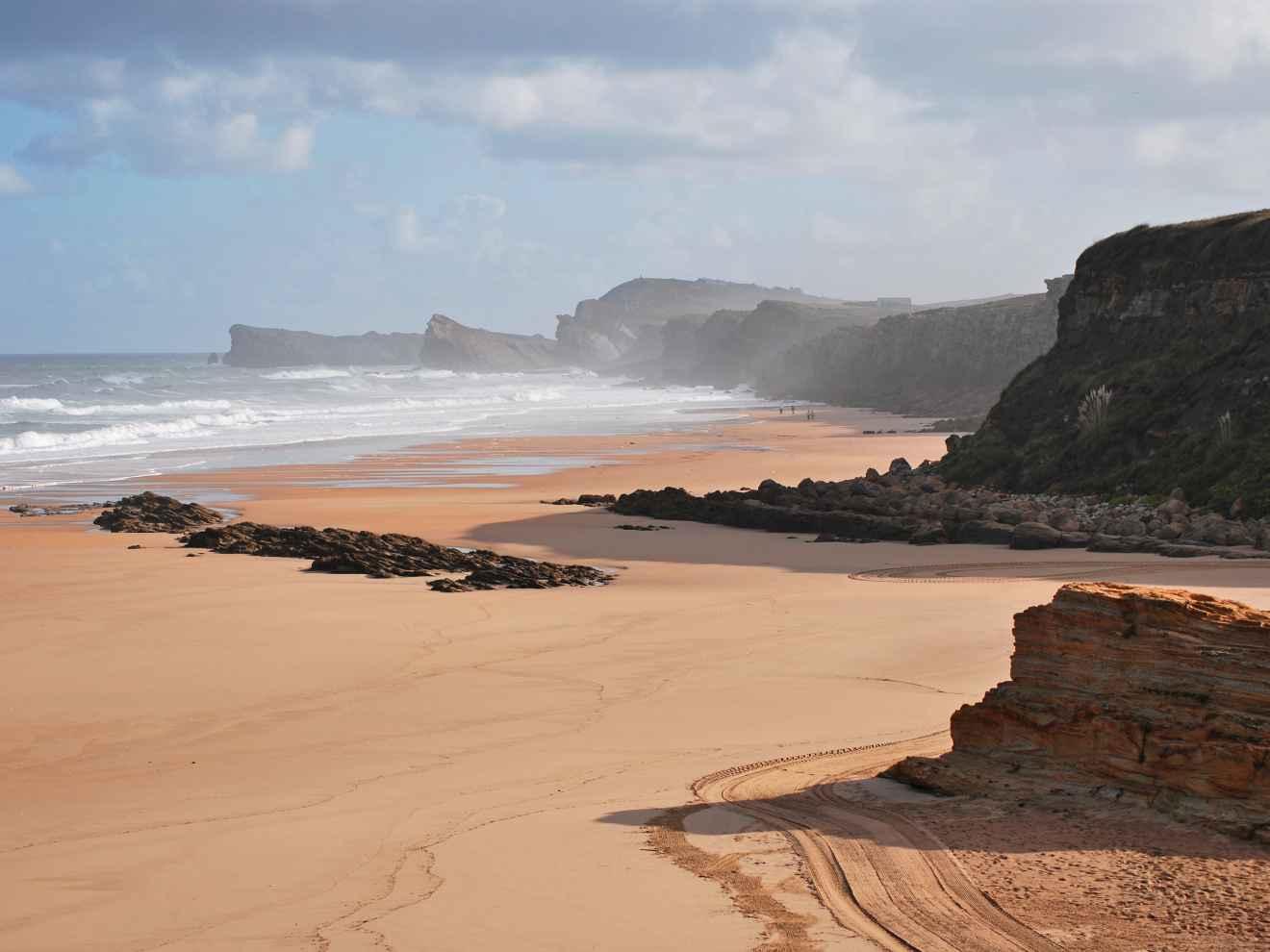 Playa Canallave, de Liencres