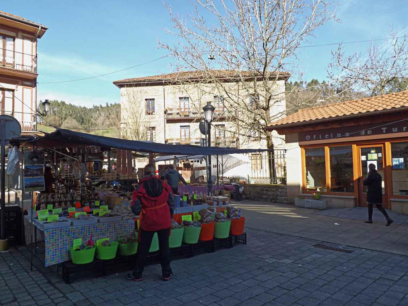 Mercado semanal del sábado