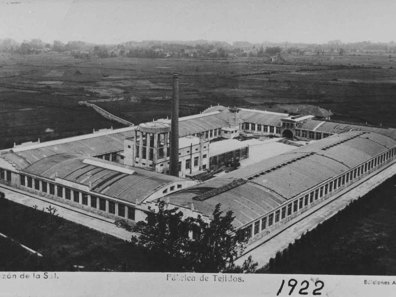 Fábrica textil, actual Textil Santanderina