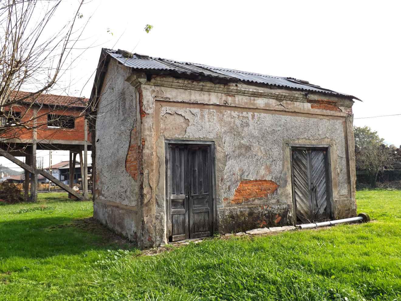 Antigua construcción minera