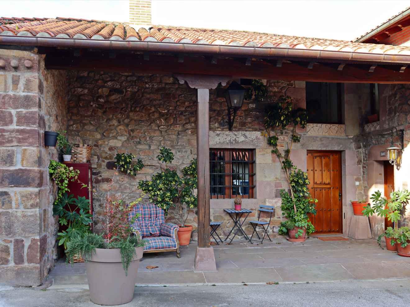 Casa Llana en Carrejo