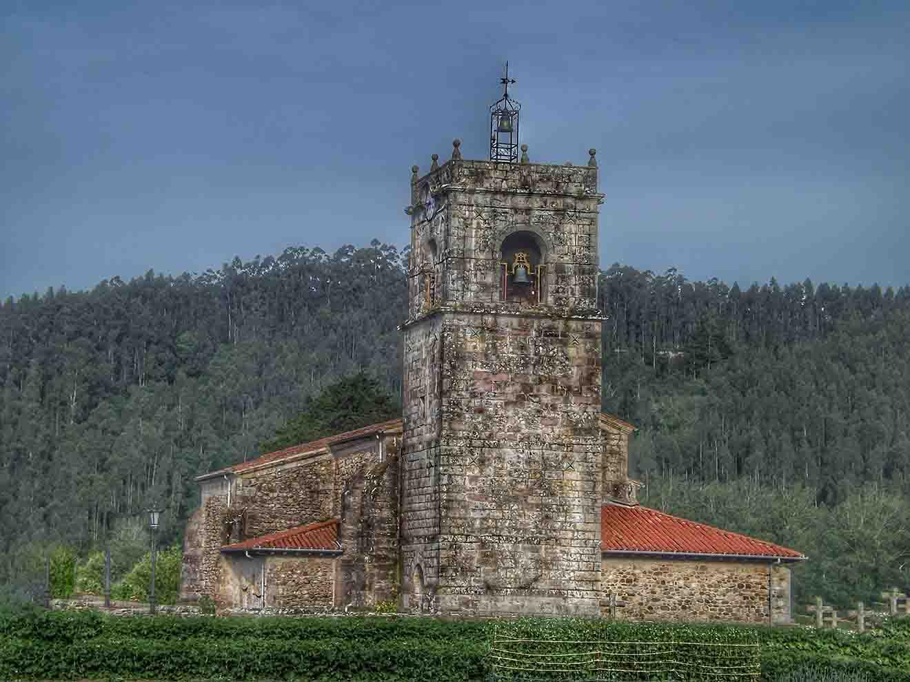Iglesia de San Lorenzo de Periedo