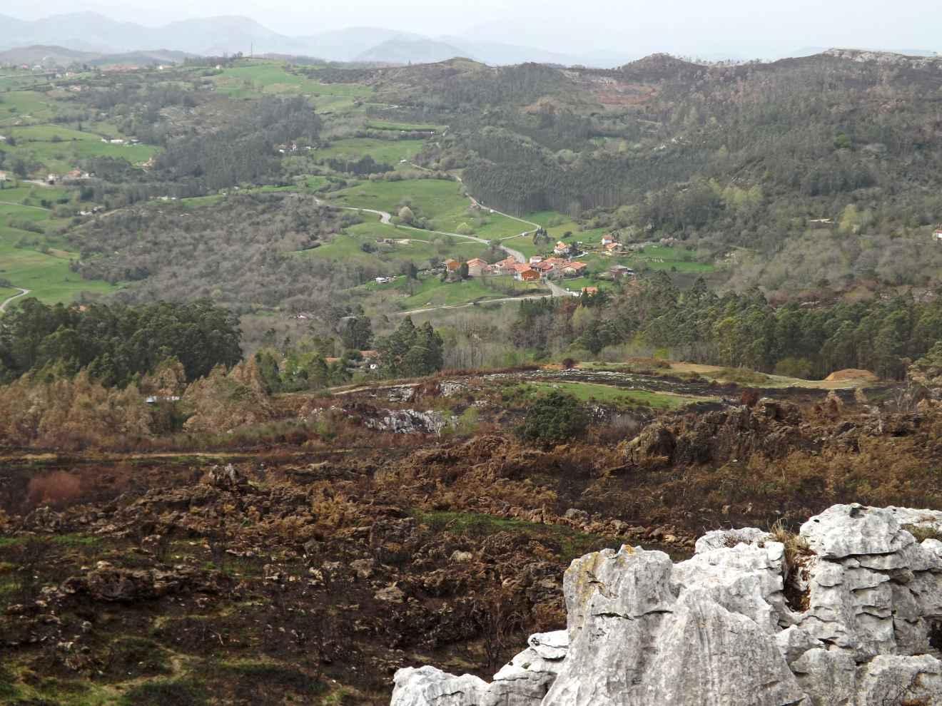 Vista del la ruta minera