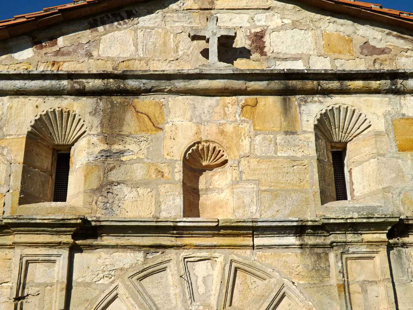 Detalle de la capilla de la Virgen de las Nieves