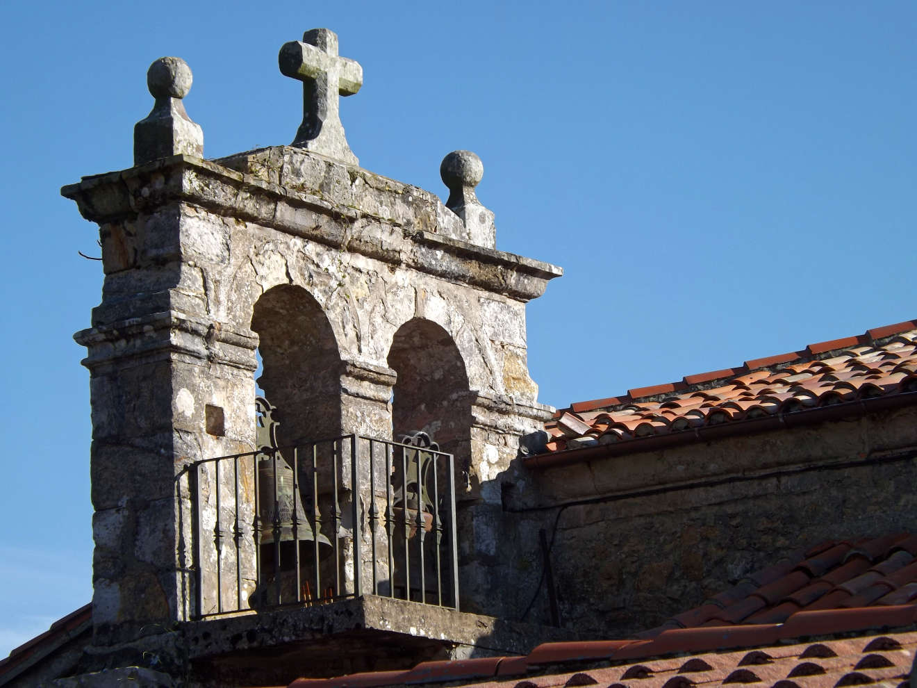 Campanario la iglesia de Santa Eulalia