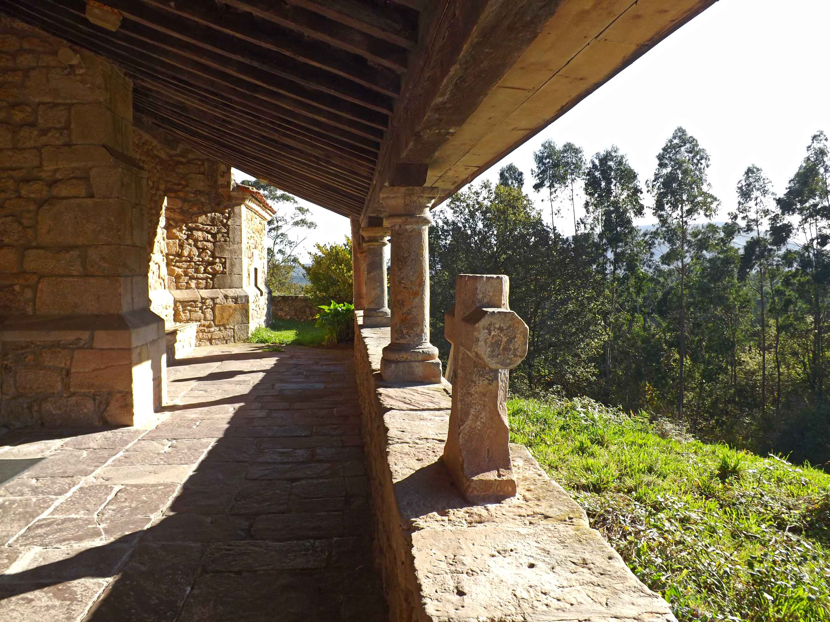 Detalle de la iglesia de Santa Eulalia