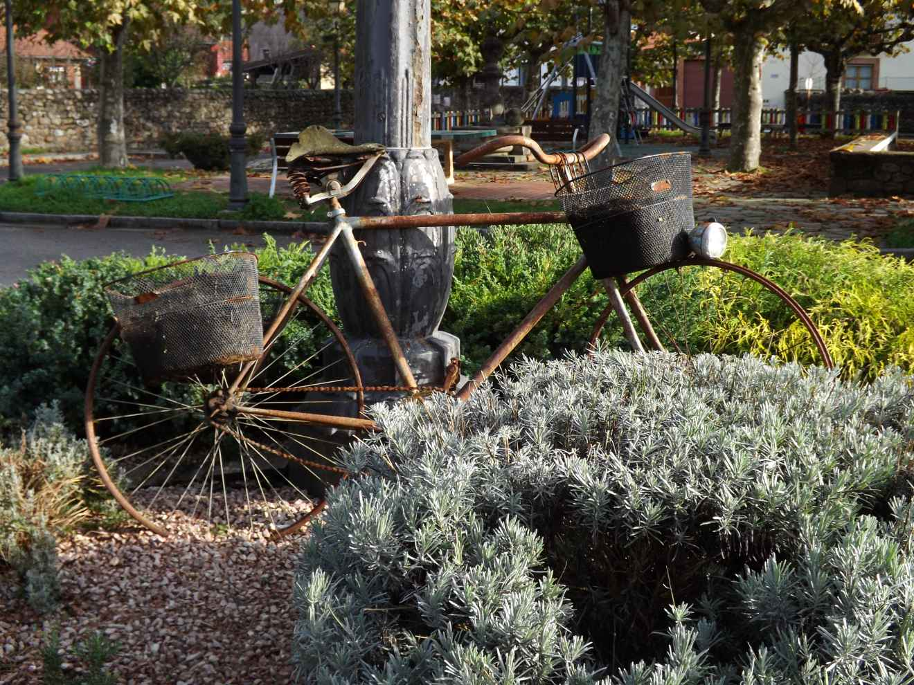 Bicicleta decorativo en Casar
