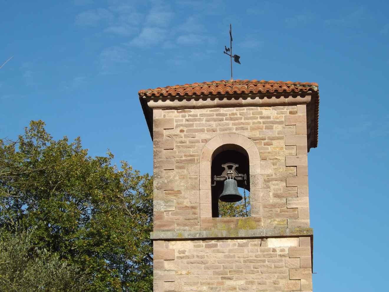 Campanario de la iglesia de Santibáñez