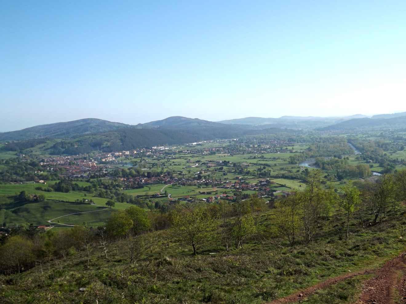 Vista del Valle de Cabezón