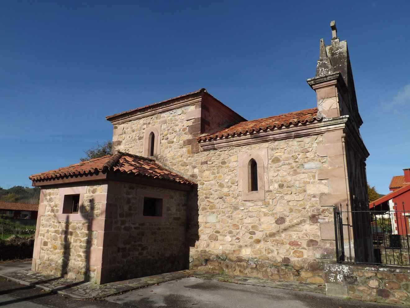Capilla de San Roque en Periedo