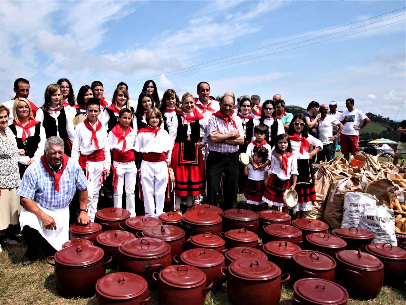 Cocineros, Presidente y grupo de Picayos en 2013