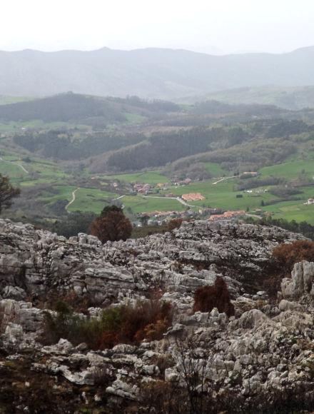 Vistas desde el camino de Las Minas