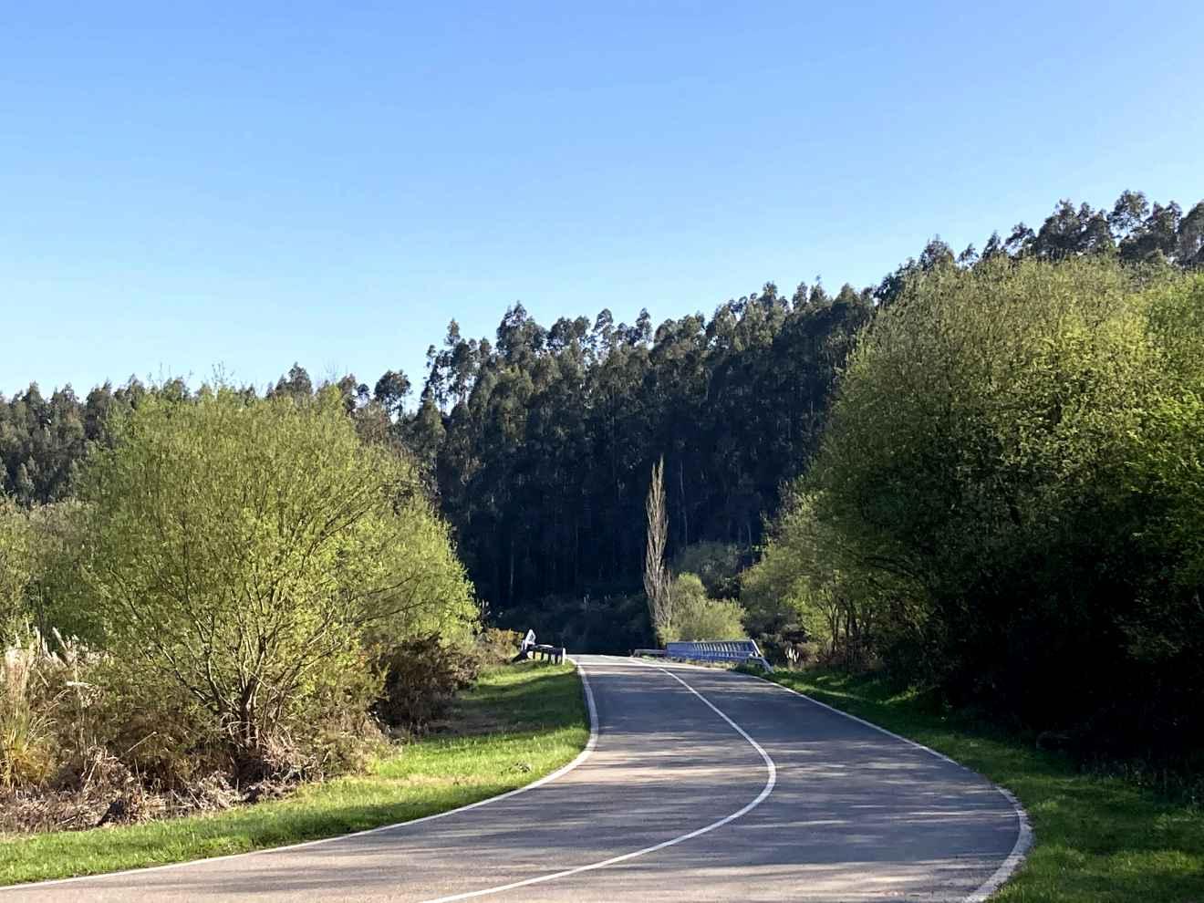 Carretera a Bustablado y Duña