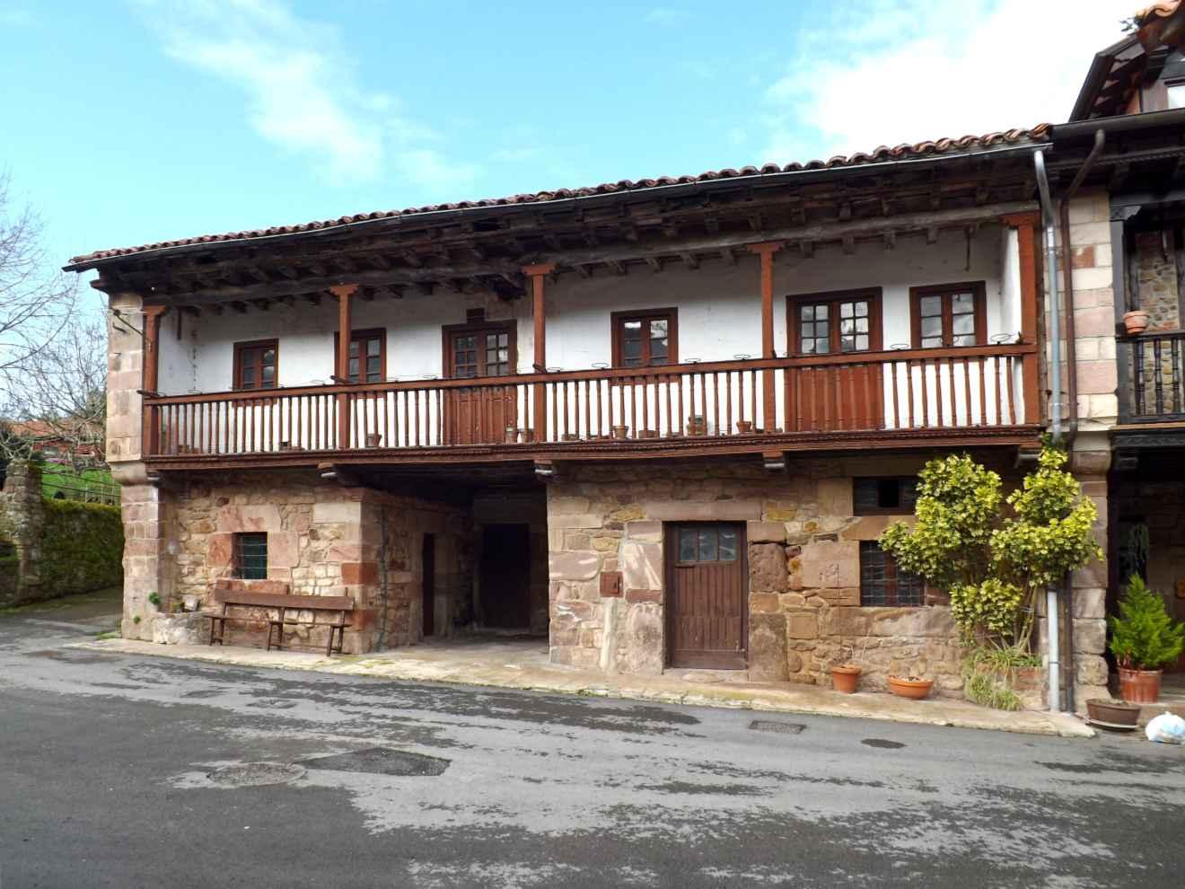 Casa natal de Pedro de Ygareda en Santibáñez